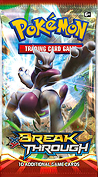 Pokemon XY8 Breakthrough Booster Pack - Pokemon Sealed