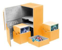 Ultimate Guard Amber Twin Flip 'n' Tray Deck Case 160+