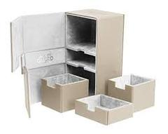 Sand Colour Deck Case Ultimate Guard Twin Flip´n´Tray 200