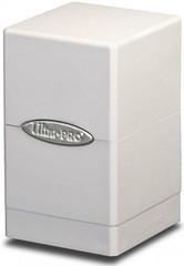 Ultra Pro Satin Tower Deck Box White