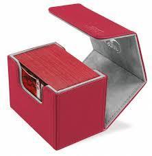 Ult Guard Sidewinder 80+ Deck Case - Red