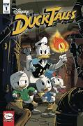 Ducktales #1 Cover a Ghiglione