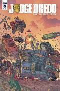 Judge Dredd Blessed Earth #6 Cover a Farinas