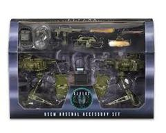 NECA Aliens Accessory Pack - USCM Arsenal