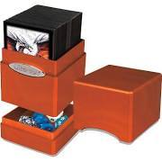 Deck Box - Ultra Pro - Satin Tower - Hi-Gloss Pumpkin