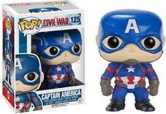 Captain America Marvel Captain America Civil War Funko Pop! #125