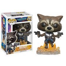 Funko - POP! Marvel 201: Guardians of the Galaxy Vol. 2: Rocket