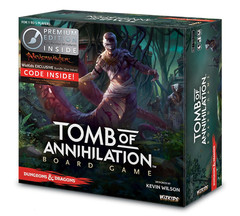 DUNGEONS & DRAGONS BOARD GAME: TOMB OF ANNIHILATION PREMIUM EDITION