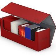 Ultimate Guard Xenoskin Red Arkhive Flip Case 400+