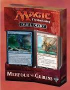 Magic the Gathering Merfolk vs Golbins Duel Decks