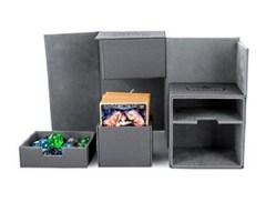 Ultimate Guard - Twin Flip'n'Tray Deck Case - XenoSkin Standard 200+ Grey