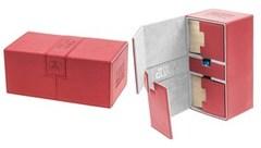 Ultimate Guard - Twin Flip'n'Tray Deck Case - XenoSkin Standard 200+ Red