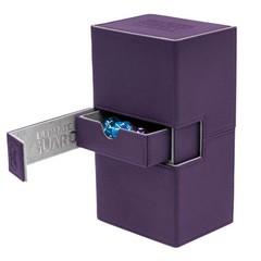 Ultimate Guard Twin Flip'n'Tray Case 160+: XenoSkin - Purple