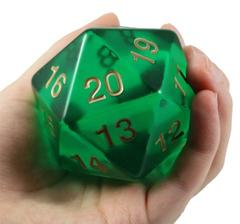 Oversize D20 (See-Through)