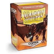 DRAGON SHIELD MATTE COPPER STANDARD SIZE CARD SLEEVES (100CT)