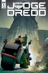 Judge Dredd Undier Siege #1