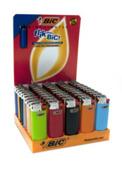 LIGHTER BIC MINI (J25) WITH CHILD GUARD