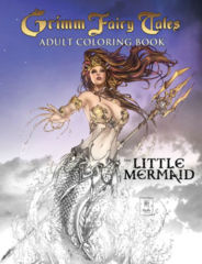 Grimm Fairy Tales Adult Coloring Book #2