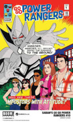 Go Go Power Rangers #10