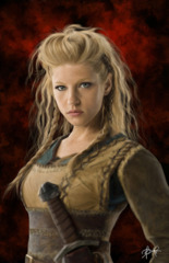 Lagertha - Vikings 11x17 Print