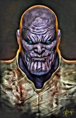 Thanos 11x17 Print