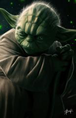 Yoda 11x17 Print