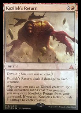 Kozileks Return