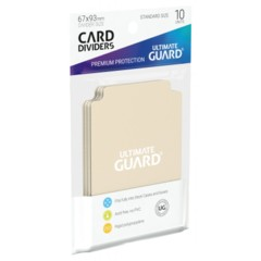 Ultimate Guard Card Dividers 10 - Sand