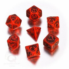 Dragons RPG Dice - Red