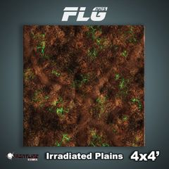 Irradiated Plains 4x4 Gaming Mat