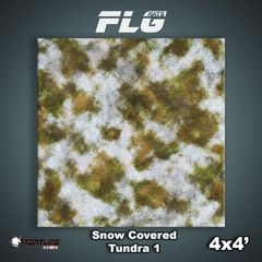 Snow-Covered Tundra 4x4 Gaming Mat