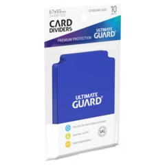 Ultimate Guard Card Dividers 10 - Blue