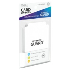 Ultimate Guard Card Dividers 10 - Transparent