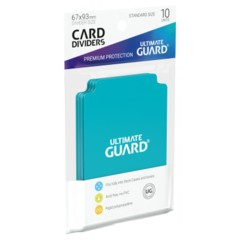 Ultimate Guard Card Dividers 10 - Aquamarine