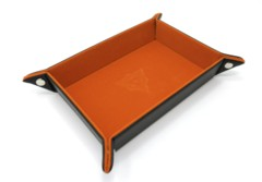 Rectangle Tray w/ Orange Velvet
