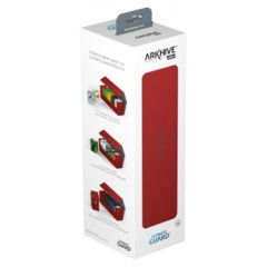 Ultimate Guard: Arkhive 400+ Deck Case (Red)