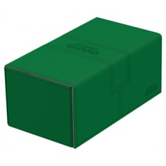 Ultimate Guard: Twin Flip'n'Tray Deck Box 200+ (Green)