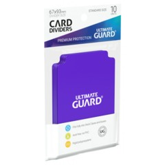 Ultimate Guard Card Dividers - Purple