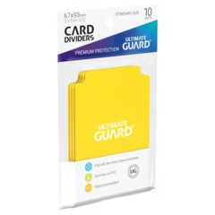 Ultimate Guard Card Dividers 10 - Yellow
