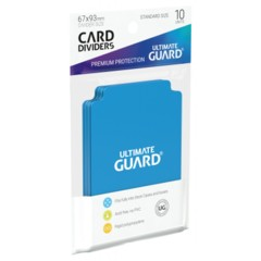 Ultimate Guard Card Dividers 10 - Light Blue