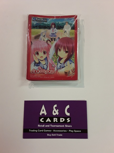 Angel Beats! #1 - 1 pack of Standard Size Sleeves - Angel Beats!