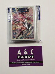 Black Seraph, Gavrail #2 - 1 pack of Mini Sized Sleeves 70pc. - Cardfight! Vanguard