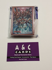 Interdimensional Dragon, Chronos Command Dragon #1 - 1 pack of Mini Size Sleeves 60pc - Cardfight!! Vanguard