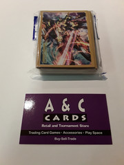 Super Cosmic Hero, X-gallop #1 - 1 pack of Mini Sized Sleeves 70pc - Cardfight! Vanguard