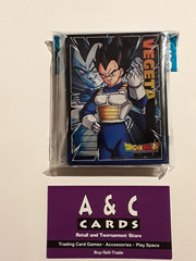 Vegeta #1 - 1 pack of Standard Size Sleeves 62pc. - Dragon Ball Super