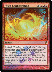 Fated Conflagration - Foil Buy-a-box Promo