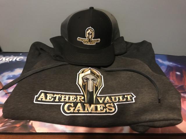 Aether Vault Games Hoodie - XLarge