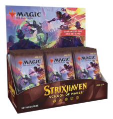 Strixhaven Set Booster Box Break - Break #6 (See description for details)