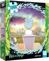 Rick and Morty Shy Pooper 1000 Piece Jigsaw