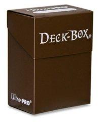 Ultra Pro Brown Deck Box Php 150